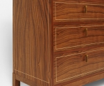 Walnut Dresser Side Detail