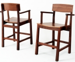 Walnut Bar Chairs
