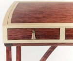 Bubinga Desk Detail