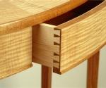Demilune Table Detail