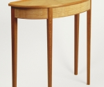 Sunburst Demilune Table